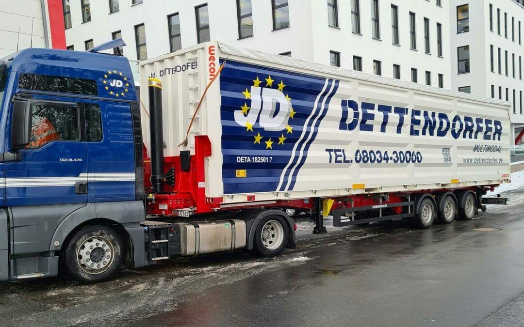 Dettendorfer Kombi-Container-LKW