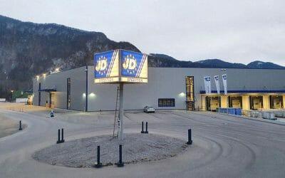 Halle II fertiggestellt