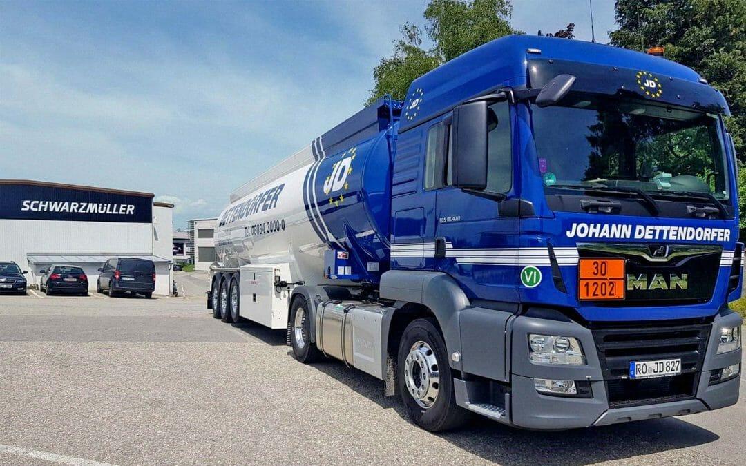 Neuer Tankwagen