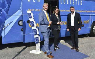 """Besuch """"translogica-Digitalisierungs-Bus"""""""